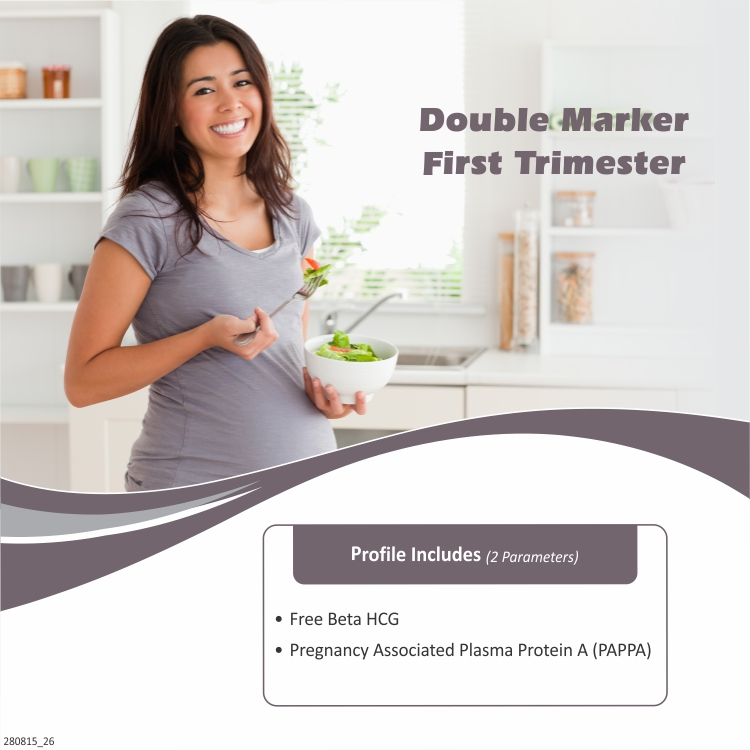 DOUBLE MARKER – FIRST TRIMESTER