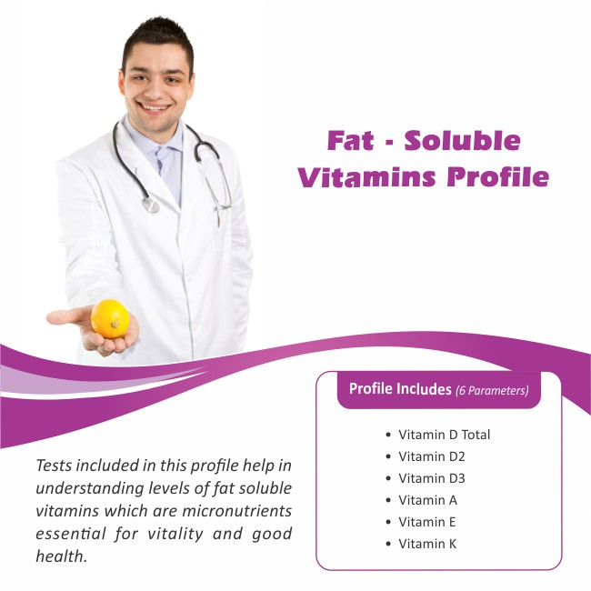 FAT – SOLUBLE VITAMINS PROFILE